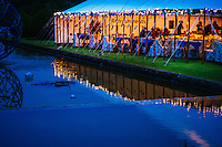 Burton Agnes Hall, Burton Agnes, East Yorkshire, United Kingdom, 27 June, 2014. Annual Jazz Festival. Pictured: