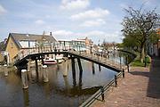 Canal and bridge, Schipluiden, Netherlands
