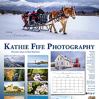 2019 New Hampshire Calendar by Kathie Fife Photography<br />