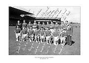 Signed team shot of the Cork Hurling team that beat Kilkenny in the 1966 All-Ireland Hurling Final at Croke Park.