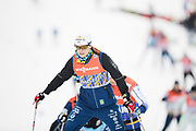 DAVOS, SCHWEIZ - 2016-12-09: Ida Ingemarsdotter under tr&auml;ning inf&ouml;r Viessmann FIS Cross Country World Cup den 9 december, 2016 i Davos, Schweiz. Foto: Nils Petter Nilsson/Ombrello<br /> ***BETALBILD***
