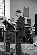 SIR TIMOTHY ACKROYD, A Service of Thanksgiving for the life of RAPHAEL B JAGO. The Actors' Church , St.  Paul's Covent  Garden. London. 2 June 2015
