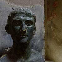 Potrait bust - probably the owner of a domus (private house) in Herculaneum.