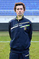 Christophe LOPES - 04.10.2014 - Photo officielle Sochaux - Ligue 2 2014/2015<br /> Photo : Icon Sport