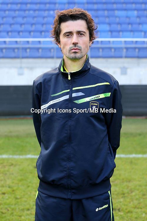 Christophe LOPES - 04.10.2014 - Photo officielle Sochaux - Ligue 2 2014/2015<br /> Photo : Icon Sport
