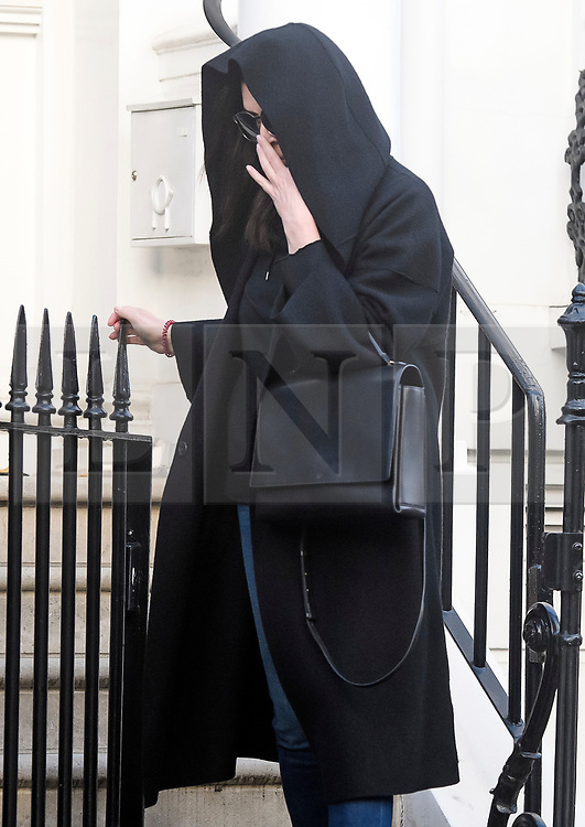 © Licensed to London News Pictures. 10/11/2018. London, UK. ZAMIRA HAJIYEVA is seen leaving her home after being released on bail earlier this week at an appeal court hearing in London. Zamira Hajiyeva, 55, who spent £16 million over a decade at luxury department store Harrods in London, is the subject of the first two unexplained wealth orders (UWO) obtained by the UK National Crime Agency (NCA) . Her husband, the former state banker Jahangir Hajiyev, is serving a 15-year prison sentence for embezzlement. Photo credit: Ben Cawthra/LNP