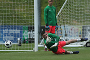 James Hugh Corcoran of Republic of Ireland (16) during the UEFA European Under 17 Championship 2018 match between Bosnia and Republic of Ireland at Stadion Bilino Polje, Zenica, Bosnia and Herzegovina on 11 May 2018. Picture by Mick Haynes.