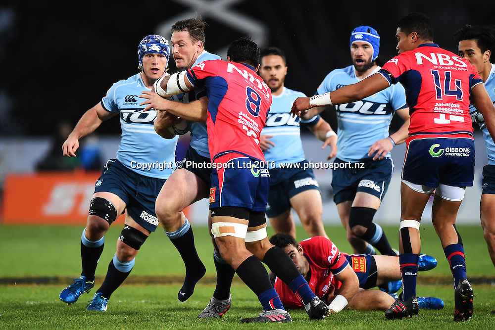 Northland player Jordan Hyland during the the Mitre 10 Cup match Tasman v Northland at Trafalgar Park, Nelson, New Zealand. Friday 16 September 2016. ©Copyright Photo: Chris Symes / www.photosport.nz