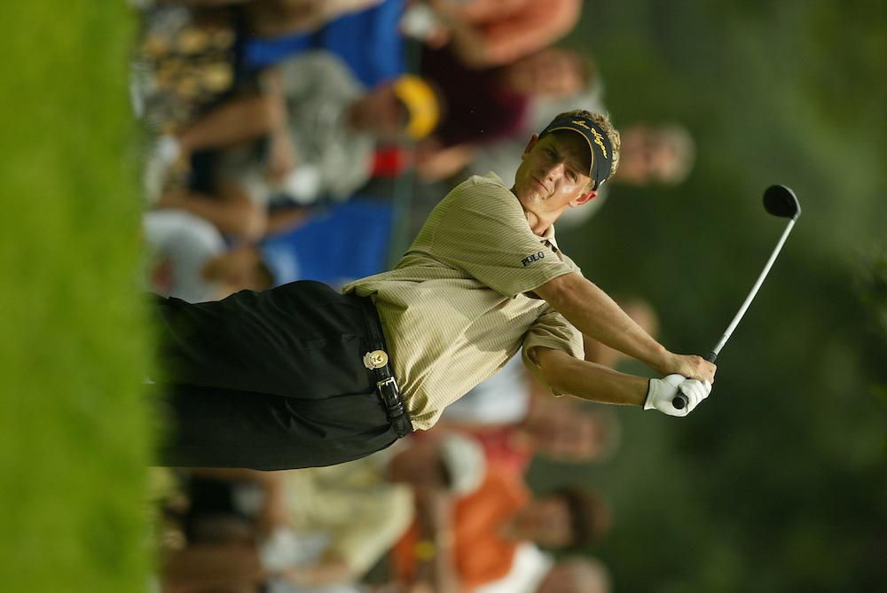 Luke Donald..2003 PGA Championship..Third Round..Oak Hill CC..Rochester, NY..Saturday, August 16 2003..photograph by Darren Carroll