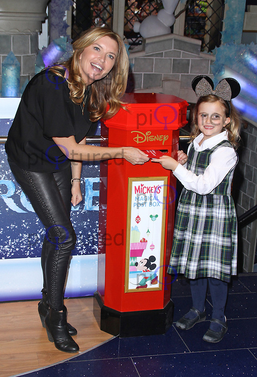 "Tina Hobley, Disney Store ""Share The Magic"" Children's Charity Campaign, Disney Store Oxford Street, London UK, 04 November 2014, Photo By Brett D. Cove"