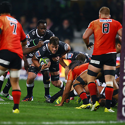 DURBAN, SOUTH AFRICA - JULY 15: Ruan Botha of the Cell C Sharks during the Super Rugby match between the Cell C Sharks and Sunwolves at Growthpoint Kings Park on July 15, 2016 in Durban, South Africa. (Photo by Steve Haag/Gallo Images)