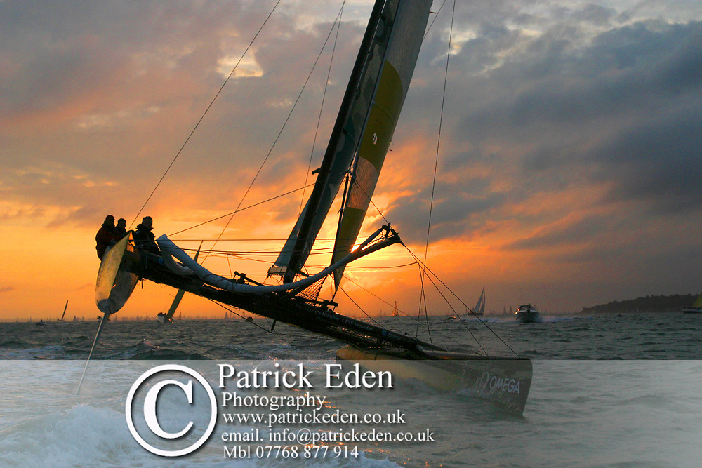 Round the Island Race, 2007, ABN Amro, Cowes, Isle of Wight, UK Sports Photography