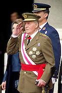Prince Felipe and King Juan Carlos