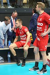 20160505 BEL: Volleybal: Noliko Maaseik - Knack Roeselare, Maaseik  <br />Gijs Jorna, Jelte Maan