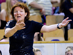 Coach of Krim Mercator  at first finals handball match of Slovenian Women National Championships between RK Olimpija and RK Krim Mercator, on May 16, 2009, in Arena Tivoli, Ljubljana, Slovenia. Olimpija won after 10 years vs Krim Mercator 30:28. (Photo by Vid Ponikvar / Sportida)