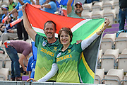 South Africa fans ahead of the ICC Cricket World Cup 2019 match between South Africa and India at the Hampshire Bowl, Southampton, United Kingdom on 5 June 2019.