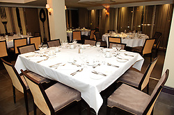 Pictured is the room set up for the dinner<br /> <br /> Clydesdale and Yorkshire Bank food and the world dinner held at Lincoln Hotel as part of the bank's business week.  Promar International divisional director John Giles was the guest speaker at the event.<br /> <br /> Date: November 12, 2015<br /> Picture: Chris Vaughan/Chris Vaughan Photography