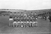 22/09/1968<br /> 09/22/1968<br /> 22 September 1968<br /> All Ireland Minor Football Final: Sligo v Cork at Croke Park Dublin. The Cork team.