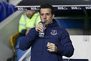 Everton Manager Marco Silva during the The FA Cup fourth round match between Millwall and Everton at The Den, London, England on 26 January 2019.