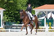 Mille Larsen Warncke - Langkjaergaard's Donna Fetti<br /> FEI European Dressage Championships for Young Riders and Juniors 2013<br /> © DigiShots