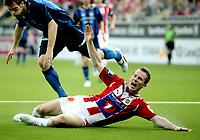 Fotball<br /> Tippeligaen<br /> Telenor Arena<br /> 01.06.2009<br /> Stabæk - Tromsø TIL<br /> Morten Moldskred roper på straffe etter nedriving av Fredrik Risp<br /> Foto: Eirik Førde