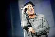 Ian Watkins/Lostprophets performing at the Rock A Field Festival in Luxembourg, Europe on June 24, 2012