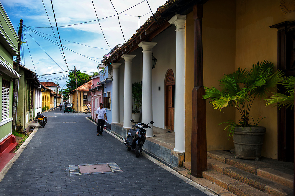 The fortified city of Galle, Sri Lanka