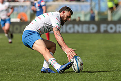 March 16, 2019 - Rome, Rome, Italy - Jayden Hayward during the Guinness Six Nations match between Italy and France at Stadio Olimpico on March 16, 2019 in Rome, Italy. (Credit Image: © Emmanuele Ciancaglini/NurPhoto via ZUMA Press)