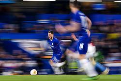 Eden Hazard of Chelsea runs with the ball - Mandatory by-line: Robbie Stephenson/JMP - 18/04/2019 - FOOTBALL - Stamford Bridge - London, England - Chelsea v Slavia Prague - UEFA Europa League Quarter Final 2nd Leg
