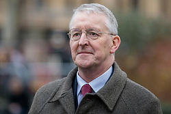 © Licensed to London News Pictures. 15/01/2019. London, UK. Hilary Benn MP in Westminster. MPs will vote on Prime Minister Theresa May's Brexit deal this evening. Photo credit: Rob Pinney/LNP
