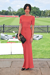 GEMMA CHAN at the Audi International Polo Day held at Guards Polo Club, Smith's Lawn, Windsor on 22nd July 2012.