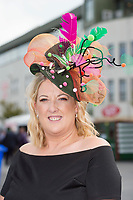 06/08/2017   Annette McGrath from Offaly at the Mad Hatters competition  at the Galway Races on the last day of the Summer festival.  Andrew Downes, xposure