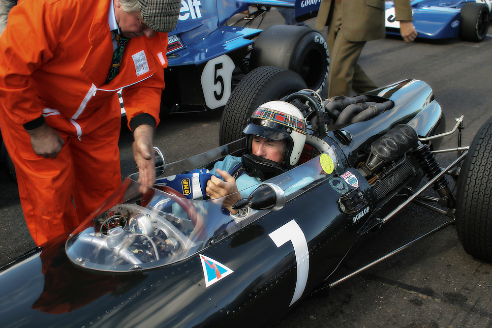 BRM P 83 Formula 1 driven by Jackie Stewart at Goodwood Revival Meeting 2005