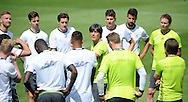 Joachim Low, head coach of Germany, addresses his players during training at Stadio Communale, Ascona<br /> Picture by EXPA Pictures/Focus Images Ltd 07814482222<br /> 26/05/2016<br /> ***UK &amp; IRELAND ONLY***<br /> EXPA-EIB-160526-0073.jpg