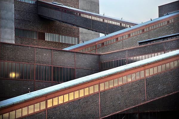 28-8-2010, Essen, DuitslandRuhrgebied, Zeche Zollverein. Deze voormalige kolenmijn staat op de werelderfgoed lijst van UNESCO, en is belangrijkste onderdeel van de culturele hoofdstad van Europa, Ruhr 2010. Kolenwasserij. Foto: Flip Franssen/Hollandse Hoogte