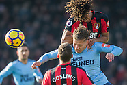 AFC Bournemouth v Newcastle United  24/02/2018