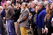 DESCRIZIONE : Venezia Lega A 2014-2015 Umana Venezia Banco di Sardegna Sassari<br /> GIOCATORE : Luigi Brugnaro<br /> CATEGORIA : vip<br /> SQUADRA : Umana Venezia<br /> EVENTO : Campionato Lega A 2014-2015<br /> GARA : Umana Venezia Banco di Sardegna Sassari<br /> DATA : 04/01/2015<br /> SPORT : Pallacanestro<br /> AUTORE : Agenzia Ciamillo-Castoria/Max.Ceretti<br /> GALLERIA : Lega Basket A 2014-2015<br /> FOTONOTIZIA : Venezia Lega A 2014-2015 Umana Venezia Banco di Sardegna Sassari<br /> PREDEFINITA :