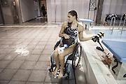 Giulia Ghiretti-Natural born swimmers-nuotatori disabili, Milano, 2014 . Giulia Ghiretti