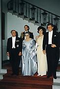President John F. Kennedy Meets with Habib Bourguiba President of Tunisia 1957-1987. Washington DC 4 May 1961.