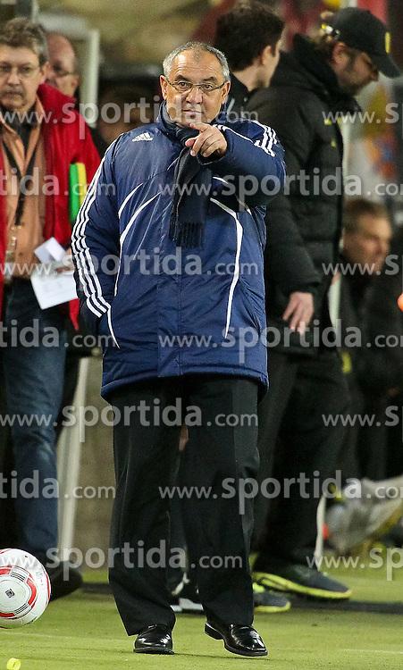 04.02.2011,  Signal Iduna Park, Dortmund, GER, 1.FBL, Borussia Dortmund vs Schalke 04, 21. Spieltag, im Bild: Felix Magath (Trainer Schalke 04)  EXPA Pictures © 2011, PhotoCredit: EXPA/ nph/  Mueller       ****** out of GER / SWE / CRO  / BEL ******