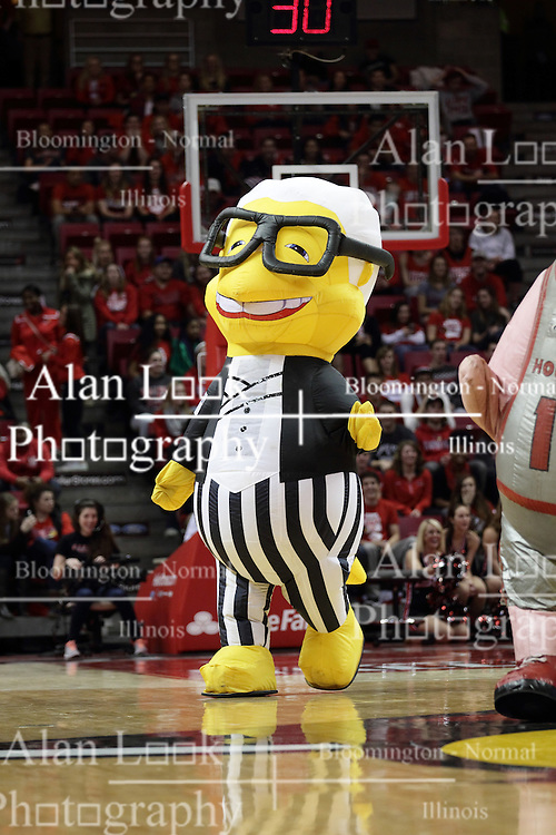 05 December 2015: Zooperstar Harry Canary. Illinois State Redbirds host the University of Alabama - Birmingham Blazers at Redbird Arena in Normal Illinois (Photo by Alan Look)