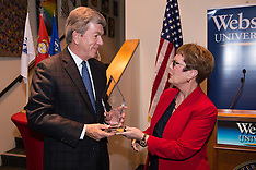 Roy Blunt Award Ceremony