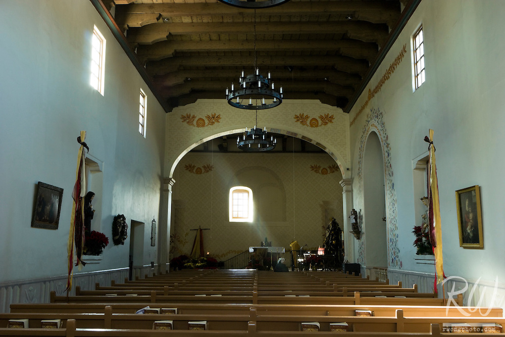 Mission San Luis Obispo Chapel, California