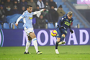 Foto LaPresse/Filippo Rubin<br /> 26/12/2018 Ferrara (Italia)<br /> Sport Calcio<br /> Spal - Udinese - Campionato di calcio Serie A 2018/2019 - Stadio &quot;Paolo Mazza&quot;<br /> Nella foto: JENS STRYGER LARSEN (UDINESE)<br /> <br /> Photo LaPresse/Filippo Rubin<br /> December 26, 2018 Ferrara (Italy)<br /> Sport Soccer<br /> Spal vs Udinese - Italian Football Championship League A 2018/2019 - &quot;Paolo Mazza&quot; Stadium <br /> In the pic: JENS STRYGER LARSEN (UDINESE)