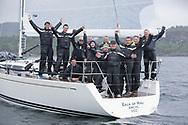 Silvers Marine Scottish Series 2017<br /> Tarbert Loch Fyne - Sailing<br /> <br /> GBR7745R, Eala of Rhu, J McGarry / C Moore, RNCYC, Swan 45.<br /> <br /> Credit: Marc Turner / CCC