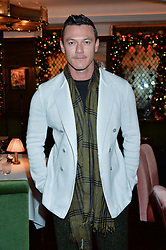 LONDON, ENGLAND 7 DECEMBER 2016: Luke Evans at an intimate performance by kylie Minogue at The Ivy, 5 West Sreet, London, England. 7 December 2016.