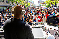 "Thousands came out this past weekend as Hyde Park welcomed the 6th Annual Hyde Park Brewfest Saturday, June 1st, 2019 and Sunday, June 2nd, 2019 along 53rd street. Patrons were treated to free music as well as beer tastings from breweries from all over Illinois. This event was sponsored by Eat, Drink and Be Events and the Hyde Park Chamber of Commerce.<br /> <br /> 1128, 1143, 1144 – D.J., Jesse De La Penya spun records for the crowd Sunday afternoon.<br /> <br /> Please 'Like' ""Spencer Bibbs Photography"" on Facebook.<br /> <br /> Please leave a review for Spencer Bibbs Photography on Yelp.<br /> <br /> Please check me out on Twitter under Spencer Bibbs Photography.<br /> <br /> All rights to this photo are owned by Spencer Bibbs of Spencer Bibbs Photography and may only be used in any way shape or form, whole or in part with written permission by the owner of the photo, Spencer Bibbs.<br /> <br /> For all of your photography needs, please contact Spencer Bibbs at 773-895-4744. I can also be reached in the following ways:<br /> <br /> Website – www.spbdigitalconcepts.photoshelter.com<br /> <br /> Text - Text ""Spencer Bibbs"" to 72727<br /> <br /> Email – spencerbibbsphotography@yahoo.com<br /> <br /> #SpencerBibbsPhotography <br /> #HydePark <br /> #Community <br /> #Neighborhood<br /> #CanonUSA"