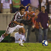 Deco in action on debut for Fluminense during the Fluminense FC V CR Vasco da Gama Futebol Brasileirao League match at the Maracana, Jornalista Mário Filho Stadium,  The match ended in a 2-2 draw. Rio de Janeiro,  Brazil. 22nd August 2010. Photo Tim Clayton.