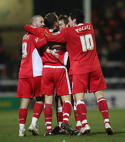 Photo: Marc Atkins.<br /> Peterborough United v Swindon Town. Coca Cola League 2. 30/01/2007.