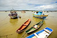 Espirito Santo - Conceicao da Barra - Cais do Porto de Conceicao da Barra, Rio Cricare - Foto: Gabriel Lordello/Mosaico Imagem